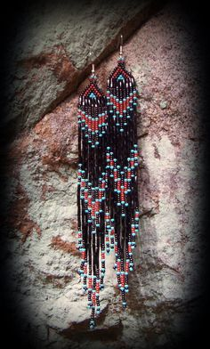 MADE TO ORDER Western Style Beaded Earring  by PersephonesPlace, $28.95