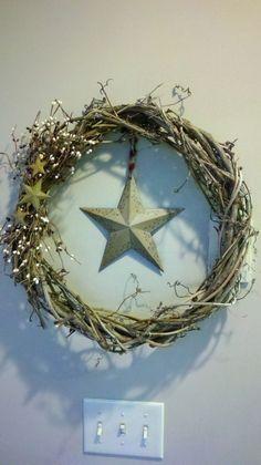 grapevine wreath crafts | Grapevine wreath
