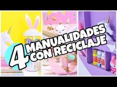 3 ideas MUY FACILES que no HABÍAS VISTO.manualidades para cuarto de niñas - YouTube