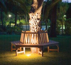 Beautiful outdoor Tree Bench