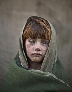 laiba Hazrat, age 6. | 21 Powerful Portraits Of Afghan Refugee Children