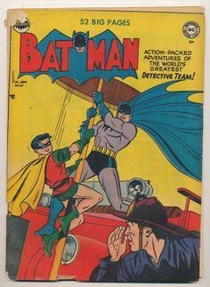 Vintage Batman 60 Golden Age Comic Book DC Comics No Reserve   eBay