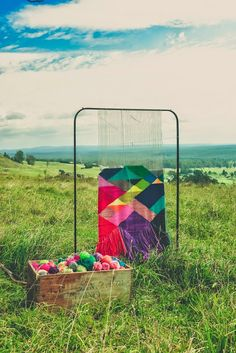 n a t a l i e m i l l e r: weaving in the field
