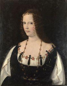 1500-10 Portrait of a Young Lady Bartolomeo Veneto