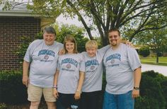Check out this throwback customer photo of the Schmaltz Family! The studious-looking bunch sporting their personalized University t-shirts is an ideal family photo.  http://blog.inkpixi.com/customer-photos/customer-photo-of-the-week-the-schmaltz-family/