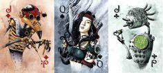 Blog na wolny czas: Maszyny i magia. Nowa steampunkowa talia kart w se...
