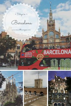 Barcelona is one of Spain's iconic cities and its charm is mostly created by a mix of architecture, parks, food and culture among other things. At the same time, is one of Europe's most popular travel destination with plenty of things to do and visit. Barcelona   Spain   Things to do in Barcelona   3 days in Barcelona   What to visit in Barcelona   Catalunya