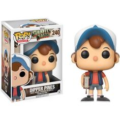 Funko Pop! Animation: Gravity Falls - Dipper Pines, Black