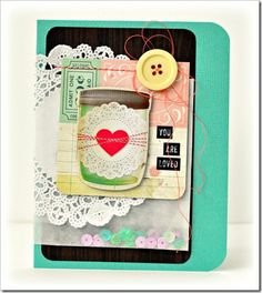 September 2013 HIP KIT card created by our DT member, Bethany Crowell. To purchase our HIP KITS or to join our HIP KIT CLUB and have a new HIP KIT delivered right to your door each month, visit out new & improved website & online store at WWW.HIPKITCLUB.NET Hip Kit Club, September 2013, Join, Website, Create, Store, Projects, Cards, Log Projects