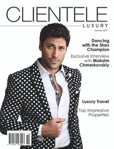 Don't forget to check out @maksim cvetkovic the reigning MBT Champion from #DWTS in the June edition of @ClienteleLuxury pic.twitter.com/c0r62PrwIu