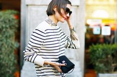 Classic details: Chanel and Breton stripes
