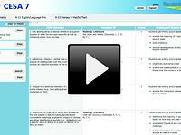 """Common Core Standards: """"standards insight"""" by CESA 7 (vimeo)"""