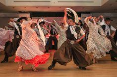 El Ballet Estable Municipal, Fiesta del Poncho, Argentina