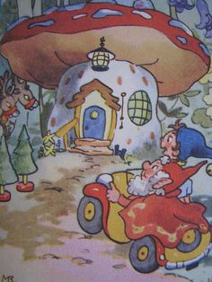 Noddy meets Father Christmas