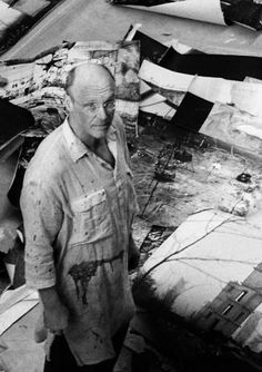 Anselm Kiefer is a German painter and contemporary artist and sculptor. He studied with Joseph Beuys and Peter Dreher during the 1970s. His works incorporate materials such as straw, ash, clay, lead, and shellac --Google Search