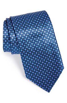 Men's Ermenegildo Zegna Silk Geometric Tie