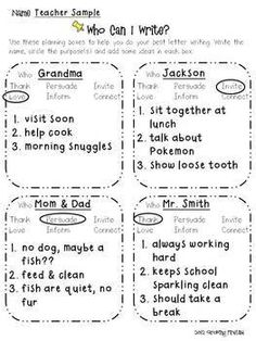 Writers workshop letter writing templates more grade 1 2 tpt friendly letter writing workshop unit spiritdancerdesigns Gallery