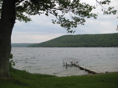Keuka Lake, New York is the most beautiful of the Finger Lakes.