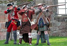 Redcoat and Jacobites '45 rebellion
