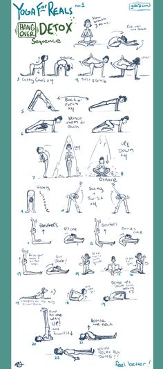 Yoga For Reals on gwerd knows your liver needs some lovin'. Give it this awesome detox sequence and tell me how you feel!