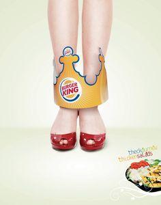 Burger King   Go Slim with Salads