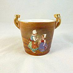 Royal Bayreuth Porcelain Bucket, Dutch Girls