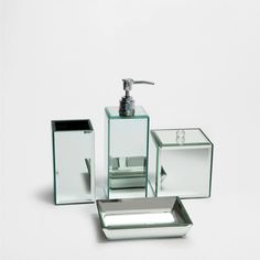 SPIEGELDE BADKAMERSET - Accessoires - Badkamer | Zara Home Netherlands