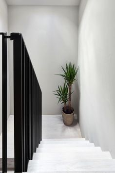 Find out how we created a bespoke Scandinavian-style hit-and-miss staircase for the Donohoe family in their Grade-II listed property. Bespoke Staircases, Wooden Staircases, Listed Building, Building A House, Customer Stories, Hallway Ideas, Grade 2, New Builds, Scandinavian Style