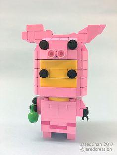 Collectible Animal Suit Brickheadz (2017)   Jared Chan   Flickr