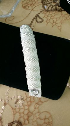 Beaded bracelet by Johanna Wall.
