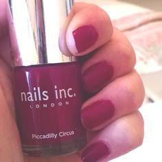 Nails inc. Piccadilly Circus, Nails Inc, London Calling, Nail Polish, Nail Polishes, Polish, Manicure, Nail Polish Colors