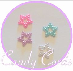 A personal favourite from my Etsy shop https://www.etsy.com/uk/listing/493895924/30-super-cute-pearlescent-stars-cabs