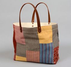 The Hill-Side & Co. x STANLEY & SONS Tote Bag with Patchwork #3 | Freshness Mag