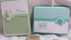 Stamping with Stace makes simple and elegant cards with the Flower Shop Bundle and Really Good Greetings from Stampin' Up!