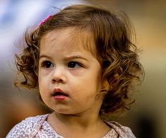 Curly Hair for Little Toddler