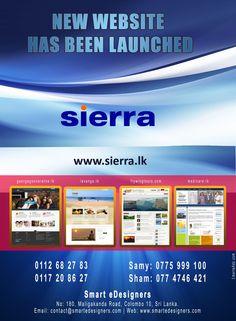 We launched Sierra Construction Website (sierra.lk)