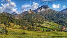 Dnes krásny pohľad na Rozsutce a Poludňové skaly od @wewita_lacek  ___________________________  Je krásny jesenný týždeň a víkend bude rovnako taký  vychutnajme si to plnými dúškami  #praveslovenske