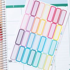 44 Double Box  - Perfect for MONTHLY Layout Erin Condren Life Planner (Vertical/Horizontal/Hourly) by FasyShop on Etsy