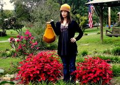 Felted hat and matching Intarsia purse!