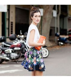 Like the concept of loose skirt and top!