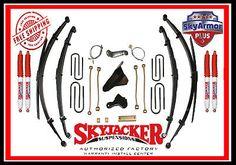8 Skyjacker Suspension Lift Kit 00-2005 Ford Escursion Gas w/Nitro Shocks