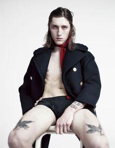 Willy Vanderperre Vogue Hommes International, 2014
