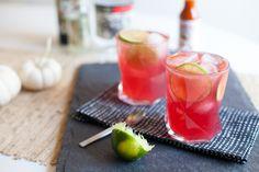 El Diablo Cocktail: tequila, creme de cassis, lime, ginger beer, tapatio