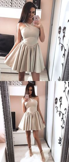 simple halter short homecoming dresses,party dresses for teens,,cocktail dresses
