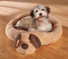 Round Dog Shaped Pet Bed      Buy it now >>>>>   http://amzn.to/1YfuGdc