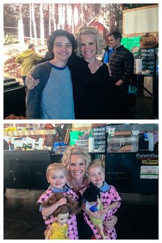"""And the kids :)"" - Monica Potter 
