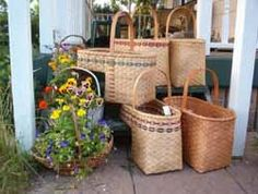 W.H. Baskets....basket kits, baskets, and basket weaving supplies