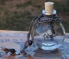 BLODEUWEDD Artisan Magic Potion Bottle with by ArtisanWitchcrafts, $49.95