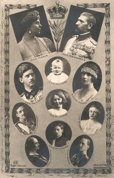 Family of King Ferdinand and Queen Marie of Romania (of Edinburgh). Mary I, Queen Mary, King Queen, Michael I Of Romania, History Of Romania, Romania People, Romanian Royal Family, Elisabeth I, Royal King