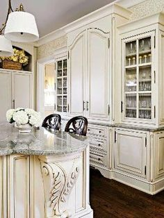 Cottage ● French Country ● Kitchen. by dianna